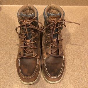 Sperry Leather Bayfish Boot